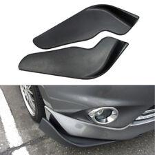 2PCS Car Front Bumper Spoiler Splitter Diffuser Bumper Canard Lip Body Shovels