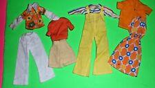 VINTAGE Clone Maddie Mod Wendy Sindy Barbie doll clothes 1980s MIX lot 1970's