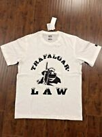 New Uniqlo One Piece Men`s Short Sleeve T-Shirt Graphic Tee XL Law