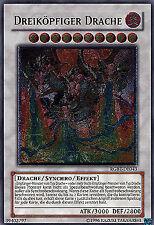 Dreiköpfiger Drache RGBT-DE043 Ultimate Rare! DE LP