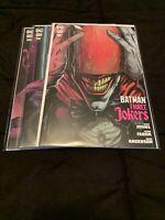 Batman Three Jokers #1-3 Variant Covers 2020 DC Comics 1st Print Johns Fabok