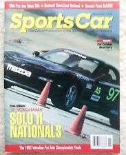 Sports Car November 1992 Solo II championships, Pro Racing & Club Racing updates