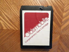 OLDSMOBILE 1976 8 TRACK TAPE/NOT  TESTED /VARIOUS/VG CONDITION/NEEDS NEW PAD