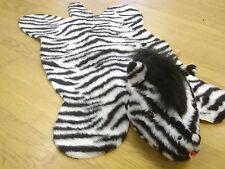 Zebra Kunstfell mit Kopf ****Sonderangebot****AUSLAUFMODELL*******