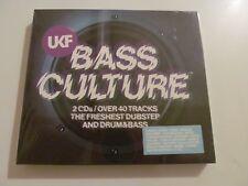UKF BASS CULTURE CD DUBSTEP DRUM & BASS CHASE & STATUS DJ MARKY SPOR WILKINSON