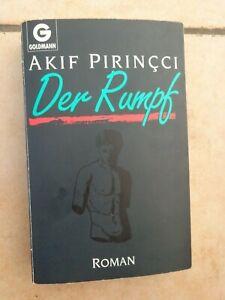 Der Rumpf   Akif Pirincci  Goldmann Taschenbuch Roman 1992  Krimi 346 Seiten  **