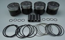 NIPPON RACING HIGH COMP FULL FLOATING JDM HONDA PG6 PISTONS RINGS D16A D16 75mm