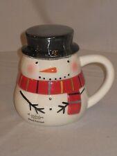 St. Nicholas Square Snowman Mug With Lid