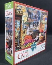 Buffalo Curiosity Shop Cat 750 Piece Jigsaw Puzzle New Sealed