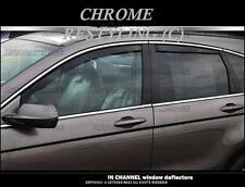 HONDA CRV IN-CHANNEL RAIN GUARDS WIND DEFLECTORS  2012-2016