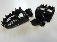 MX Footpegs Alu Fußrasten KTM SX EXC 450 01 02  03 04 05 06 07 08 09 10 11 black