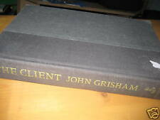 HB: The Client by John Grisham (no cover jacket)