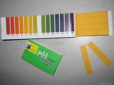 New 100 STRIPS FULL RANGE 1-14 PH TEST PAPER --FULL REFUND IF YOU DONT SATISFY