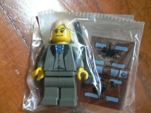 Lego Harry Potter Lucius Malfoy Minifig with book, wand