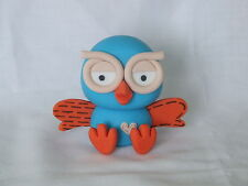 3D EDIBLE HOOT THE OWL CAKE TOPPER / DECORATION