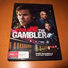 THE GAMBLER ( 2014 , DVD , REGION 4 ) MARK WAHLBERG , BRIE LARSON ~ VERY GOOD !