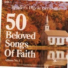 """Album No.1 (only - no No. 2) Reader's Digest """"BELOVED SONGS OF FAITH"""" 26 TRACKS"""