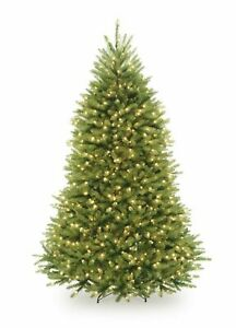 National Tree 6.5 Foot Dunhill Fir Tree with 650 Clear Lights (DUH3-65LO)