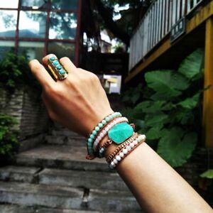 Handmade Amazonite Bracelet Amazonite Sterling Silver Bangle Gift For Her Amazonite Round Shaped Cabochon Bangle