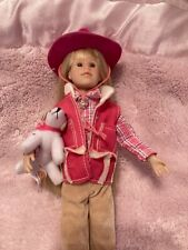 Only Hearts Club Karina Grace in Western Riding Outfit with Dog 2007