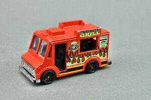 1983 Hot Wheels Friburger's Grill Food Truck Van D18