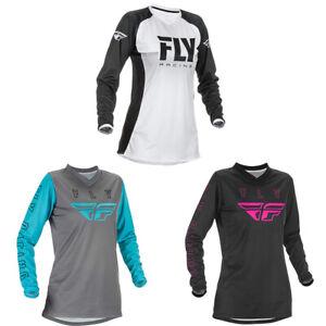 NEW Cycling Jersey Women's Motocross/MX/ATV/BMX/MTB Dirt Bike Riding Shirt Adult