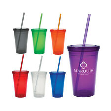 60 Custom Double Wall Tumblers, Bulk Promotional Products, Event Party Favors