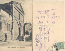 CHIUSI* CHIESA SAN FRANCESCO MOLTO ANIMATA DA TANTI BAMBINI-BELLA *N.47437