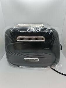 KitchenAid Classic 5KMT2115BOB 2 Slice Toaster - Black.