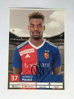 Autogramm AFIMICO PULULU-FC Basel-Angola-Ex-Xamax Neuchatel-handsigniert-AK