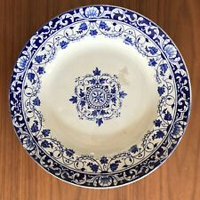 JULES VIEILLARD BORDEAUX XIX PLAT BLEU SCE LOUIS XV/ Victorian French dish