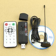 Digital USB TV Stick FM+DAB DVB-T RTL2832U+R820T Support SDR Tuner Receiver New