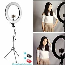 "Camera Photo Video Lighting Kit, 18"" Dimmable LED Ring Light, Light Stand"