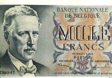 1000 Francs 1950-1951 Belgique Frank Belgïe centenaire Belgium