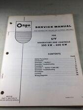 Onan Uv Generators Service Manual 300kw 600kw