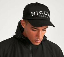 f2ad9216c94305 Nicce London Baseball Cap Hat Unisex Black/White Cotton