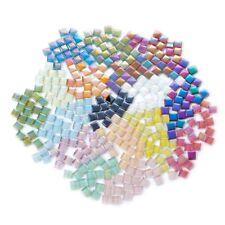 Symphony Glass Mosaic Tiles for Crafts Square Mosaic Tiles 10x10mm Bulk 200pcs