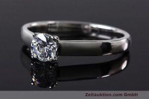 Ring Milano 950 Platin Solitär Diamant Brillant 0,53 CT WERT: 4976,- EURO