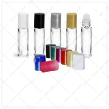 10 ML EMPTY LIP GLOSS, AROMATHERAPY ROLLERBALL BOTTLE , GLASS VIALS 10 ML