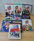 The Big Bang Theory Seasons 1-10 DVD Box Sets- 1-2-3-4-5-6-7-8-9-10 *Used*