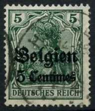 Belgium German Occupation 1914 SG#2, 5c On 5pf Used #D61597