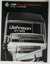 JOHNSON Outboards 1988 dealer brochure - French - Canada - ST2003000418