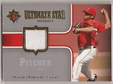 FRANCISCO RODRIGUEZ Angels 2007 Ultimate Collection Star Materials Jersey