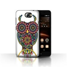 STUFF4 Case/Cover for Huawei Y5II/Y5 2/Ornamental Animals/Owl