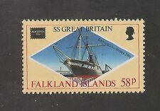 Falkland Islands #449 VF MNH - 1986 58p SS Great Britain Restored Vessel - Ship