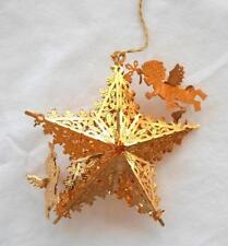Danbury Mint Angels Star Cherubs Christmas Tree Ornament Gold 1998 Holiday Decor