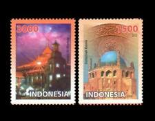 Indonesia 2009 MNH 2v, Joint Issue, Mosque, Religion, Masjid Al Markaz (N165)