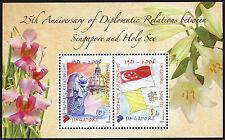 Singapore 2006 - Foglietto Emissione Congiunta Singapore Vaticano - nuovo **