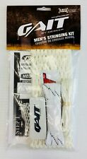New Gait Canadian Soft Mesh Lacrosse Head Stringing Kit White string lax strings