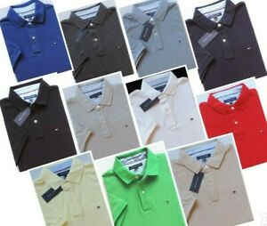 Tommy Hilfiger Men's Short Sleeve Solid Polo